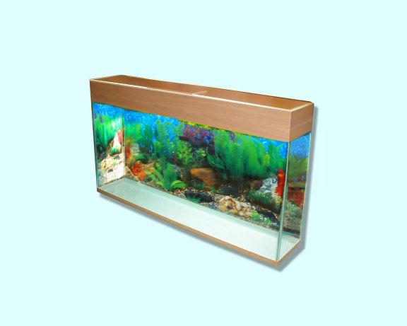Настенный аквариум.
